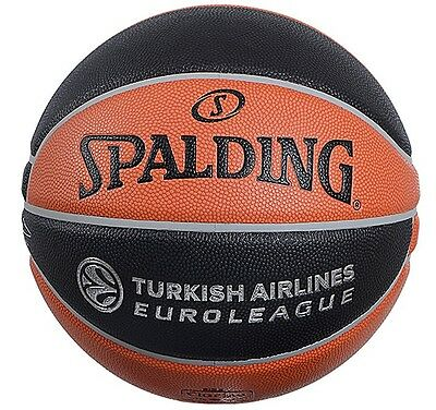 Olympiacos Piraeus BC -Euroleague Ball Spalding TF1000-Signed by the entire team
