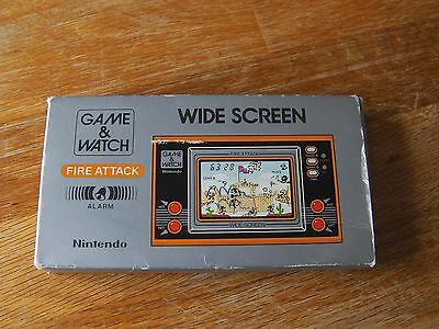 "Lcd game Nintendo "" Fire attack Fort apache "" game watch"