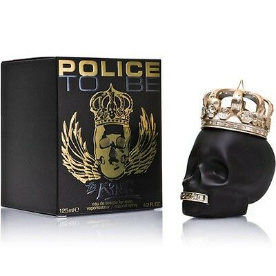 Police To Be The King 125Ml Spray Eau De Toilette For Man