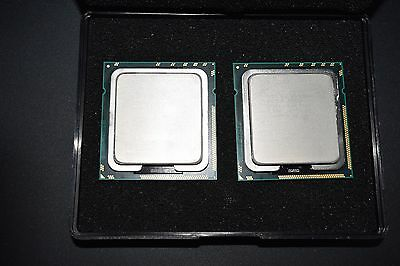 Matched Pair Intel Xeon X5660 2.8GHz 12M 6 Core 1333MHz SLBV6 CPU Processor