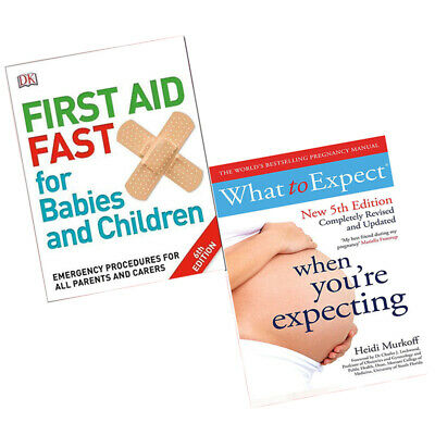 First Aid Fast for Babies and Children & What to Expect When 2 Books Collection