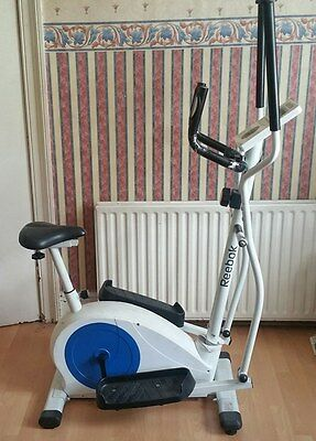 Reebok Pure 2 in 1 Exercise Bike and Cross Trainer