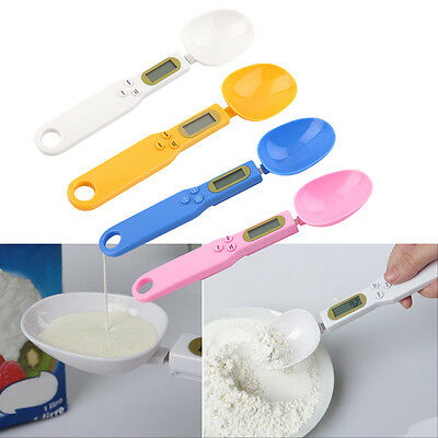 500 0.1g Digital LCD Measuring Food Kitchen Lab Electronic Spoon Weight Scale MG