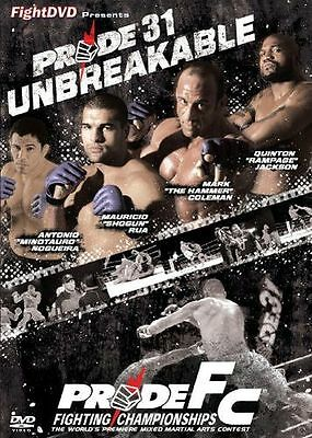 **NEW** - Pride 31 - Unbreakable [DVD] [2009] 5021123125390
