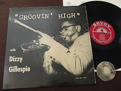 LP Dizzy Gillespie Groovin' High Mono 1st. Press RVG MG12020 A/B USA 1955 | EX