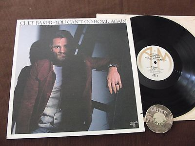 LP Chet Baker You Can't Go Home Again USA 1977 | M-