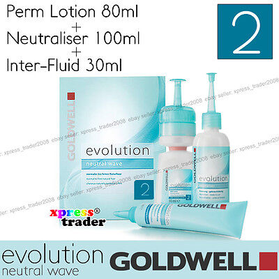"Goldwell Evolution Perm Neutral Wave Lotion ""Type 2"" For color-treated hair"