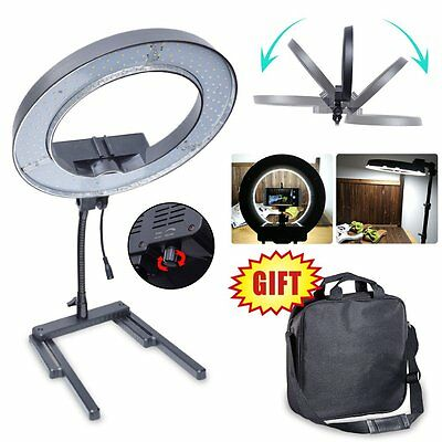 AU 34cm 13'' 40W Diva LED Ring Light for Beauty Makeup Video Photo + Table Stand