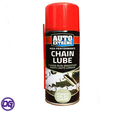Chain Lube High Performance 200ml for Bikes, Motor Cycles, Chain Saws and Mowers
