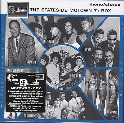 "The Stateside Motown 7s Box - 7 x 7"" Vinyl 45 Set - New Numbered Ltd. Edition"