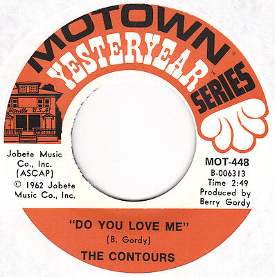 "The Contours - Do You Love Me / Shake Sherrie - 7"" US Vinyl 45 - New & Unplayed"
