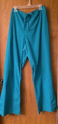 Women's Cherokee Scrub Pants Size 2XL Tall. Teal