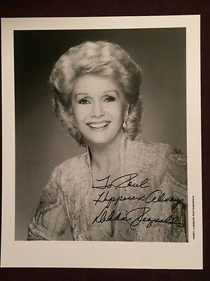 Debbie Reynolds Singing In The Rain Star Autographed Signed Photo