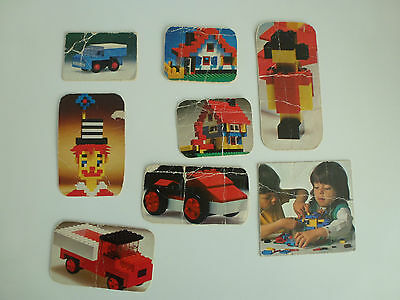 Lego vintage photos from old box set