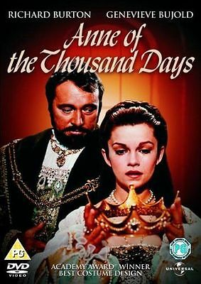 **NEW** - Anne of the Thousand Days [DVD][1969] 5050582413793