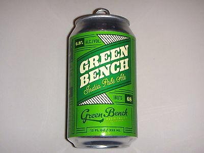 Green Bench IPA, Green Bench Brewing, Florida, Empty 12oz Craft Beer Can