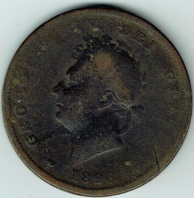 George IV, One Penny 1826, Fair, M4866