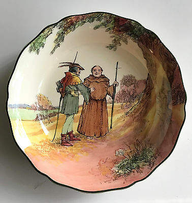 royal doulton round bowl under the greenwood tree robin hood D6341