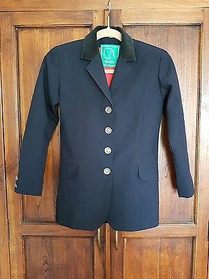 Robinsons Childs Show Jacket Childrens Competition Horse Riding Coat 164 13-14 y