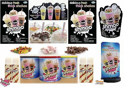 Shmoo Milkshake Mixed Package with Pavement Sign & FREE POS