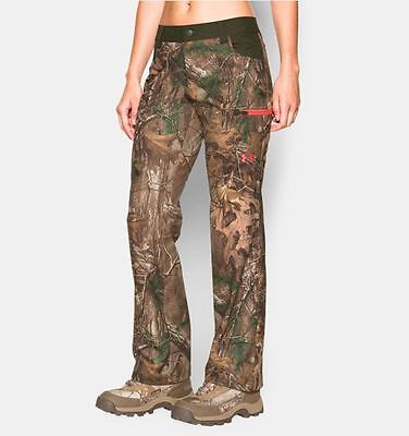 UNDER ARMOUR Women's Size 12 Hunting Pants Speed Freak Scent Control