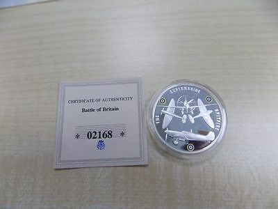 Battle of Britain, Silver & Gold Plated Medallion 2010, UNC, PS2912