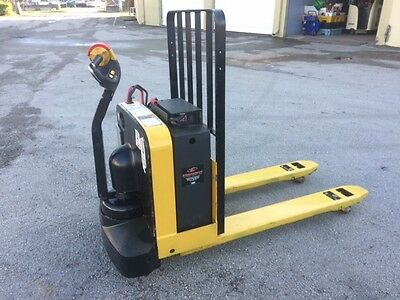 2012 Yale Electric Pallet Jack 5,000 Lb Capacity With On-Board Charger