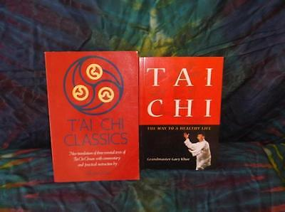 "Look!bulk New Age/ Esoteric/ Spiritual/ Metaphysical Book Lot-""tai Chi"" Lot#06"