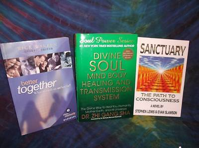 "Look!bulk New Age/ Esoteric/ Spiritual/ Metaphysical Booklot-""healing"" Lot#57"