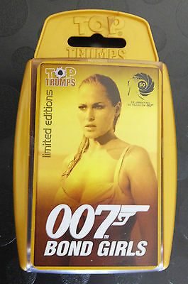 007 Bond Girls Top Trumps Limited Editions New Sealed