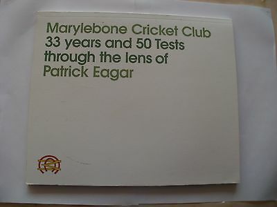 Signed Mcc Publication-33 Years And 50 Tests Through The Lens-Patrick Eagar