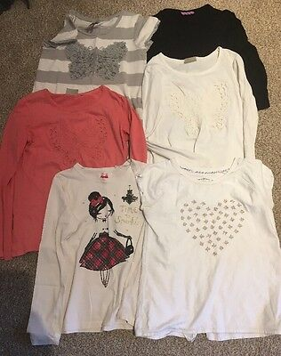 Bundle Of 6 Girls T-shirts / Tops Incl. NEXT.  Age 11-12