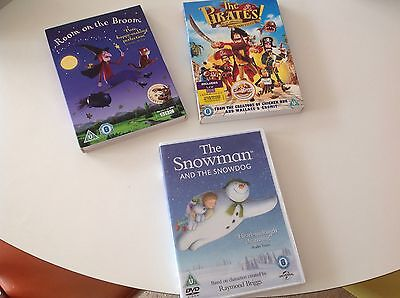 room on the broom, the pirates, the snowman and the snow dog dvd