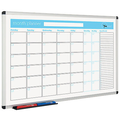 Printed Planner Whiteboard - Month Planner