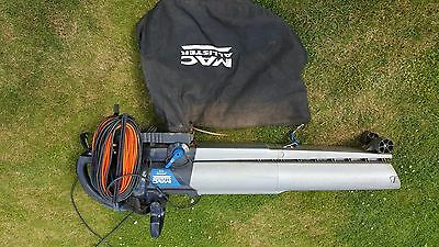 MAC Allister 3000W Electric Corded Garden Vacuum and Blower