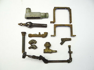 Antique & Vintage Lot Used Metal Iron Buzzer Gaged Ney Dart C&L Gas Stove Piping