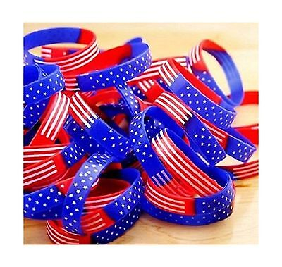 American Flag Silicone Bracelets-4th of July 5
