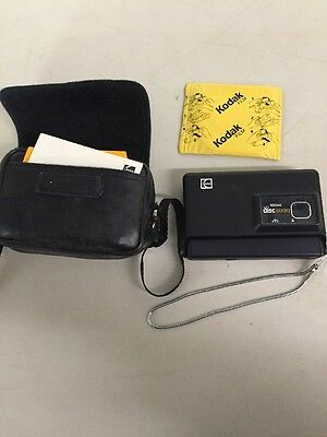 Vintage Kodak Disc 6000 Camera And 1 Pack Of Kodacolor Disc Film
