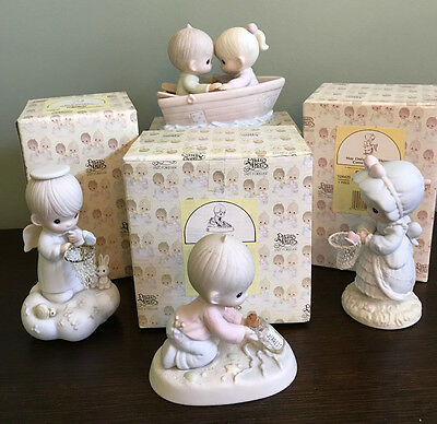 Precious Moments Figurines Lot of 4 New in Box