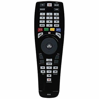 One For All Universal 4 Device Remote Control OARC04G Good