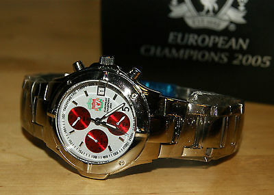 Limited Edition Liverpool 2005 Champions League Commemorative Collectable Watch