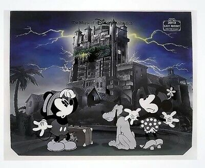 Magic of Disney Animation Last Resort Hollywood Tower Hotel Ink And Paint Cel
