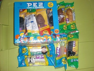 Star Wars Pez Candy Dispenser Counter Display Box - Lot of 18