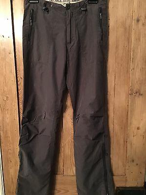 "Vintage Fat Face Walking Hiking Trousers Uk Size 10R L31"" Grey"