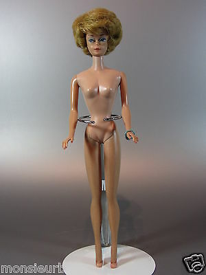 Vintage Barbie Doll Ash blonde Bubble Cut Japan 1960's Body Bubblecut