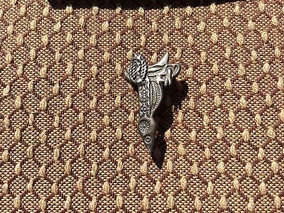 Sterling Silver Saddle Pin