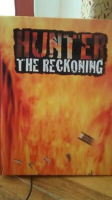 Hunter The Reckoning Roleplaying game book