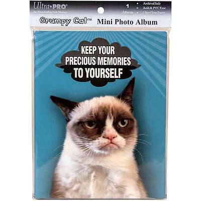 "Ultra Pro Grumpy Cat Mini Photo Album 4""X6""   Memories 074427582074"