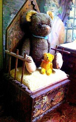 1940s German Character TEDDY BEAR big feet excelsior