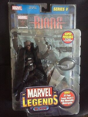 "Figurine MARVEL LEGENDS ""BLADE (Wesley SNIPES)""  Series V TOYBIZ de 2003"